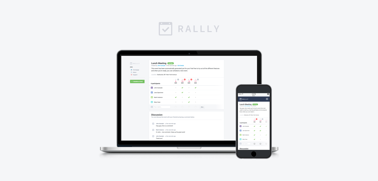 Rallly Collaborative Scheduling